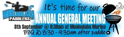 Annual General Meeting Saturday 8th Sep 2018