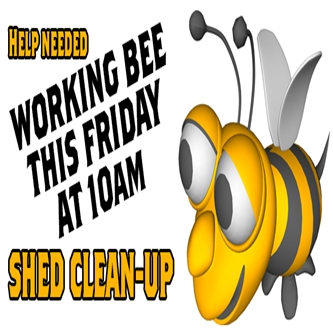 Friday working Bee
