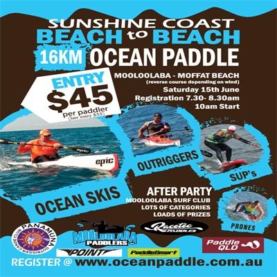 Mooloolaba Paddlers- Beach to Beach Ocean Paddle