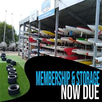 REMINDER Membership and Storage
