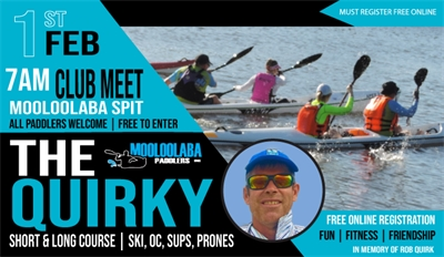 REMINDER - 2nd Quirky for 2020 - 1st Feb don't forget to register