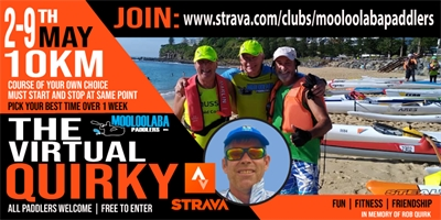 Mooloolaba Paddlers Inc - First Ever Virtual Quirky