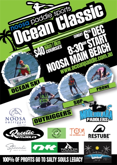 Noosa Paddle Sports Ocean Classic Sunday 6th December