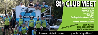Mooloolaba Paddlers 8th Club Meet