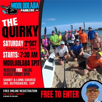 IT's QUIRKY TIME 2nd Oct ( Club Race )