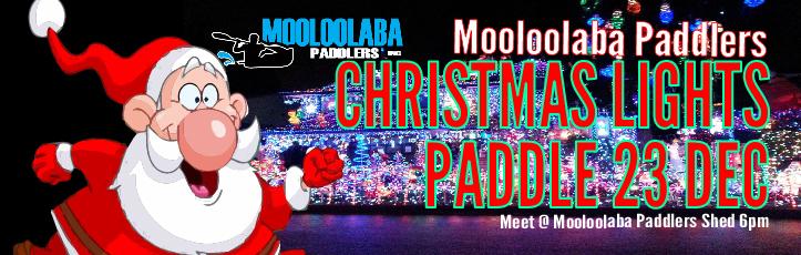 Christmas Lights Paddle