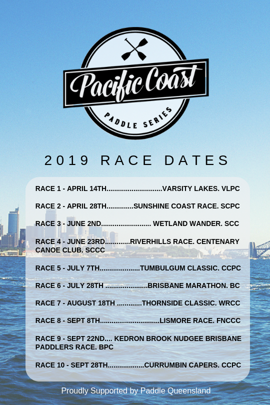 Pacific Coast Paddle Series