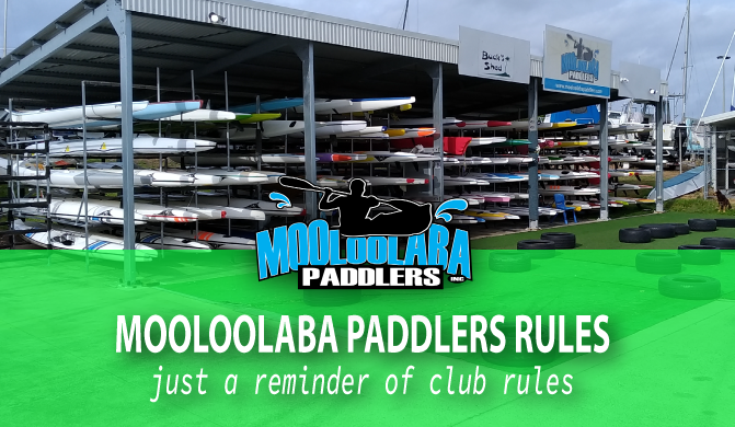 Club Rules Reminder